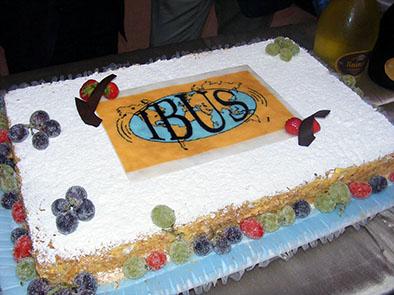 IBUS 20th anniversary cake